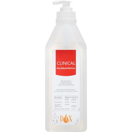 DAX Clinical 600 ml Pumpflaska